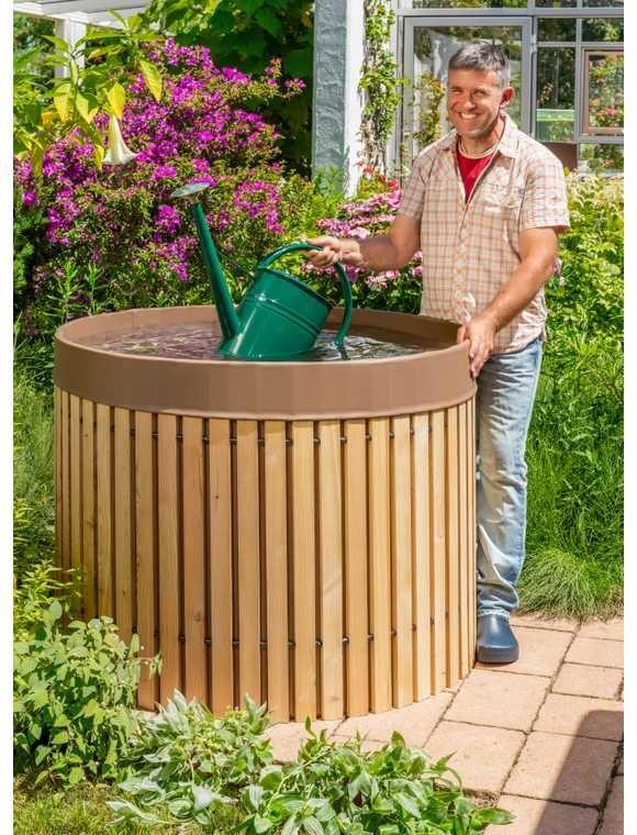 Beckmann Regentonne 800l Regentonne Garten Gartengestaltung