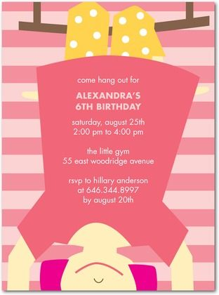 111 best Gymnastics party images on Pinterest Birthday party ideas - best of invitation wording for gymnastics party