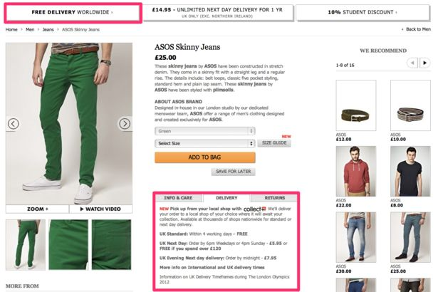 10 essential features for creating great product pages | Econsultancy