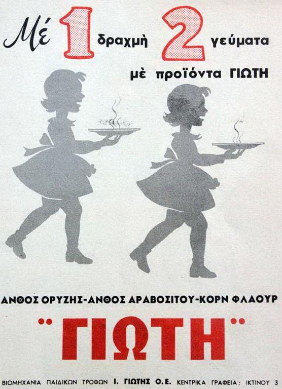 ΓΙΩΤΗ παιδικές τροφές