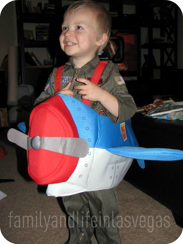 Toddler Pilot & Airplane Costume for Aidan maybe...