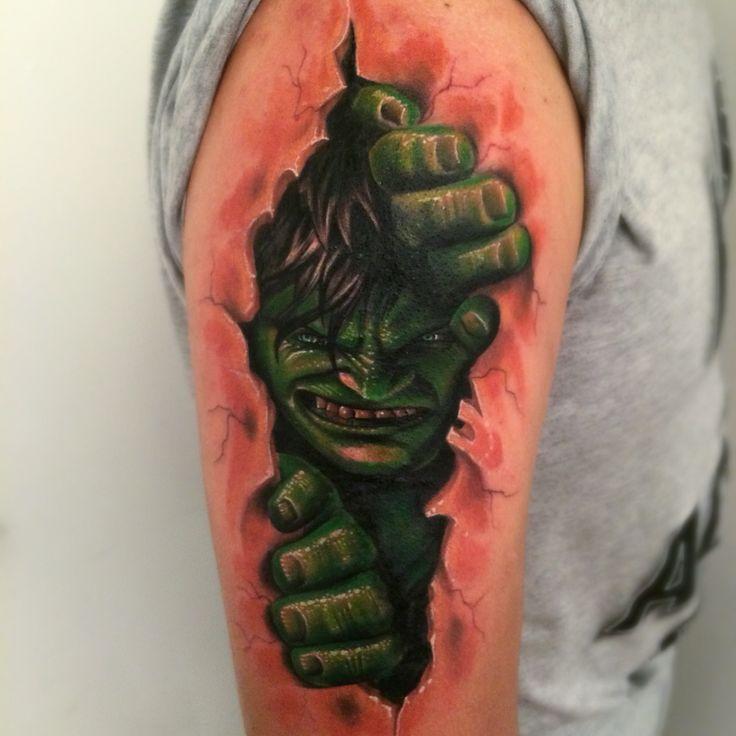 hulk desde la piel
