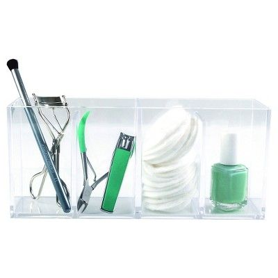 Hold on Cosmetic Organization System Bino, Clear