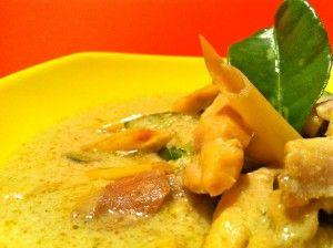Green Curry Chicken – Pollo al curry verde tailandes | Kitchen Journal