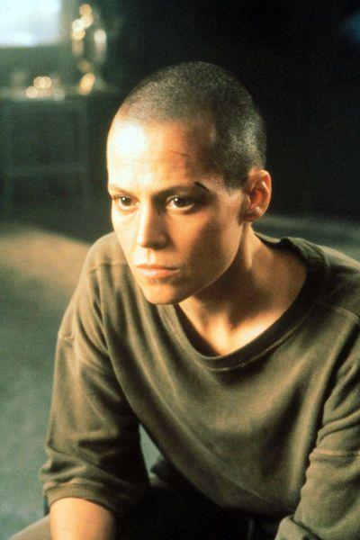 Sigourney Weaver in Alien 3 (1992) as Ripley