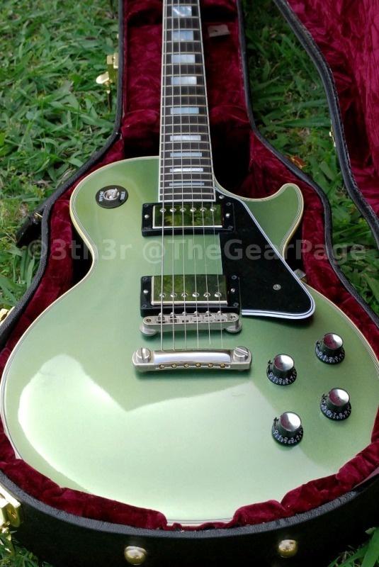 letzte Veröffentlichung Sonderverkäufe Ruf zuerst 1968 Les Paul Reissue in Pelham Blue, my favorite guitar ...