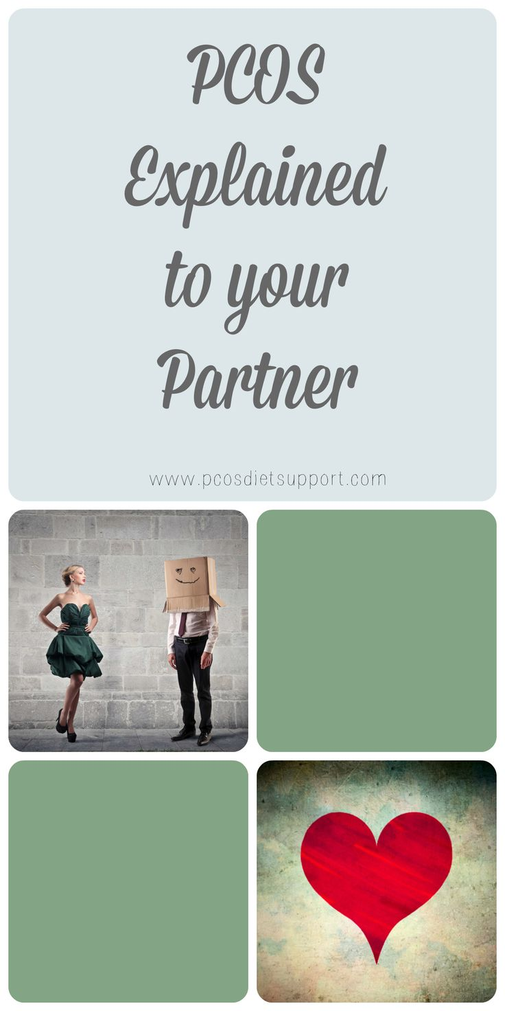 This is for partner, family or significant other. PCOS explained...