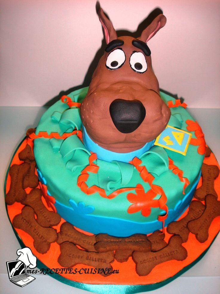 Recettes traditionnelles et cuisine nouvelle - Forum - Élégance de nos gâteaux - Gâteau Scooby-Doo