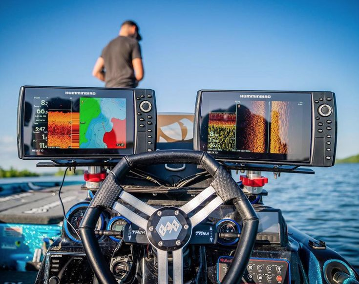 The Dream Fishing Setup Humminbird Fishfinder Fishing Fish Finder Humminbird Boats For Sale