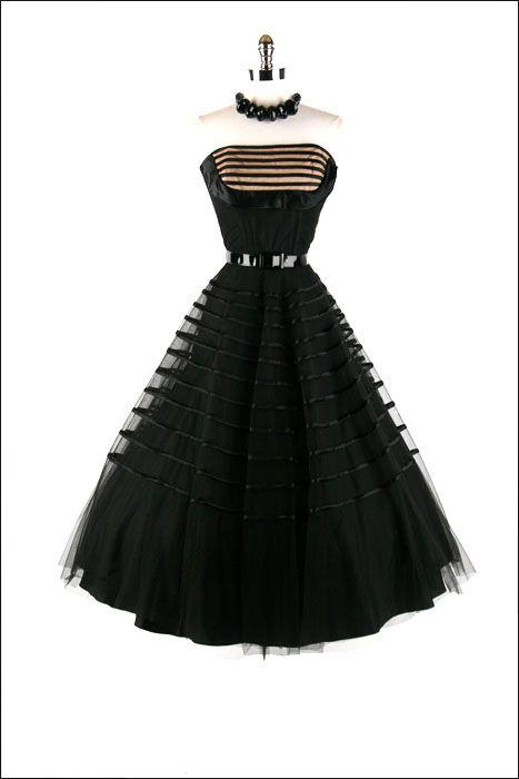 Fred Perlberg 1950's Dress