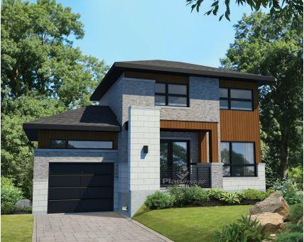 Plans de maison - Étage - 27254