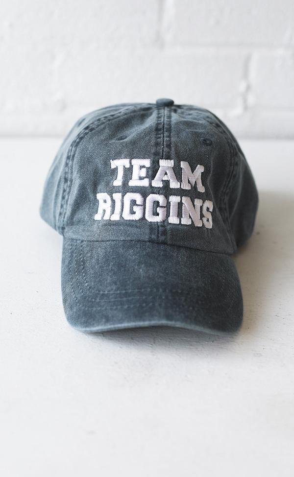 We're still not over Friday Night Lights or our favorite bad boy, Tim Riggins. Swoon, right?! Grab this hat today & show your Riggins (& Panther) pride