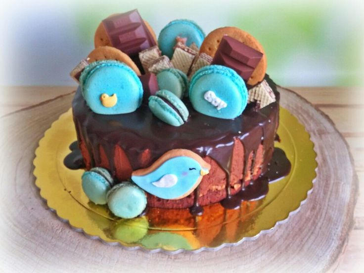New baby boy welcome cake