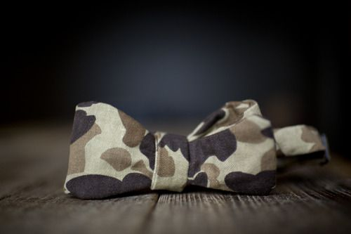 Army bow tie