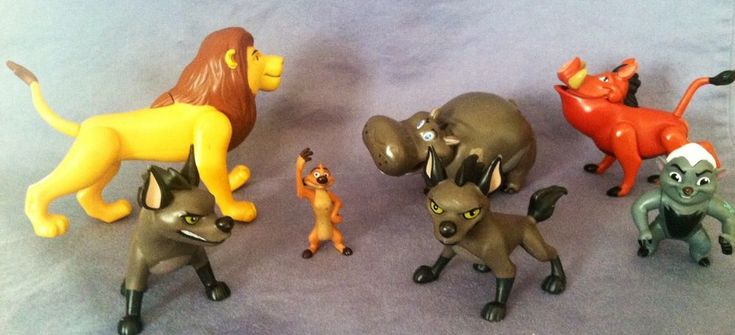 All moveable legs are intact and work great. Very nice condition, see photo's. Minimal wear from use, these are darned good Lion King toys. | eBay!