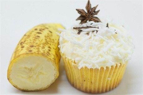 Ванильные кексы с бананом