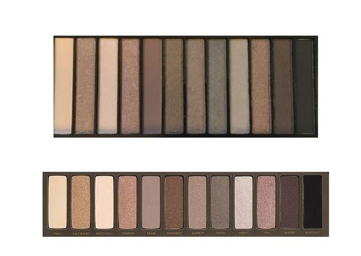 Makeup Revolution Redemption Palette Iconic 2 review vergelijking naked 2