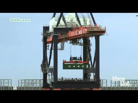 Port of Rotterdam: Maasvlakte - Euromax Container Terminal - YouTube