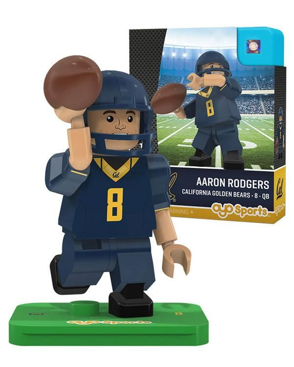 California Golden Bears AARON RODGERS College Legend Limited Edition OYO Minifigure