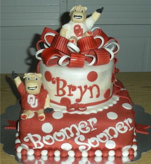 23 Best Oklahoma Sooners Cakes Images On Pinterest