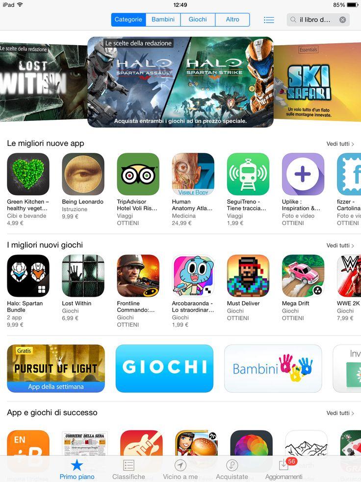 #BeingLeonardo tra le migliori nuove App su App Store!