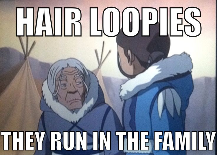 Avatar: the last airbender. Funny:p  I was just thinking about the hair loopies!!