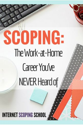 Yes, you can earn $3K-$5K per month from the comfort of home as a scopist! Work from home, work while you travel, work on vacation, there's so much flexibility. All you need a computer with internet connection. The most underrated work from home job: scoping. How to Make Money As a Scopist | coffeehearted.com