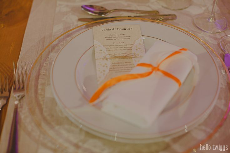Party details - menu Photo by Claudia Casal * Hello Twiggs
