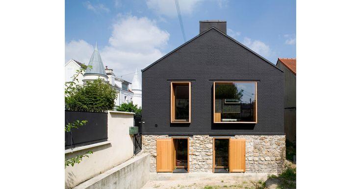Magnifique rénovation et agrandissement par l'Architecte Jacques MOUSSAFIR. PHOTOGRAPHE : Jérôme Ricolleau
