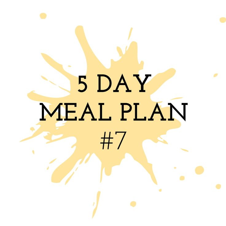 5 Day Meal Plan #7 - Cooking in the Chaos. Thermomix Recipes