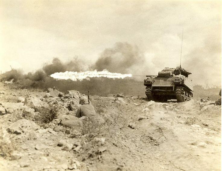 Iwo Jima, Japanese Volcanic Islands, 1945