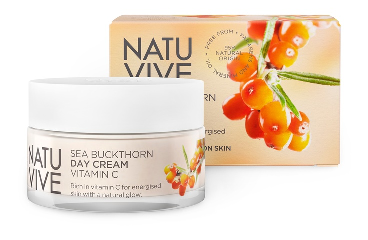 NATUVIVE Sea Buckthorn Day Cream Vitamin C
