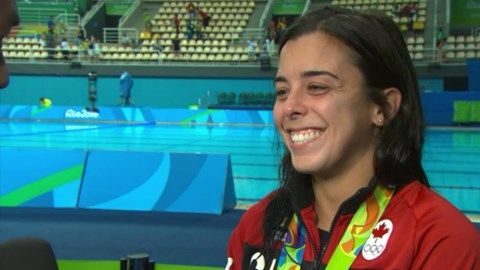 Bronze medallist Meaghan Benfeito has her family, coaches and country to thank