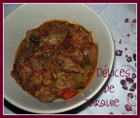 Boeuf aux légumes d'été - Beef with Summer vegetables