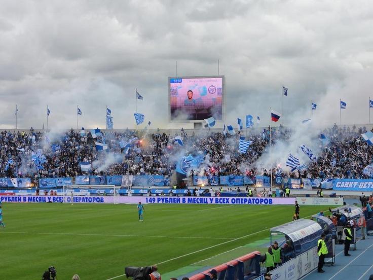 blue-devil @ Zenit-Spartak Moskva