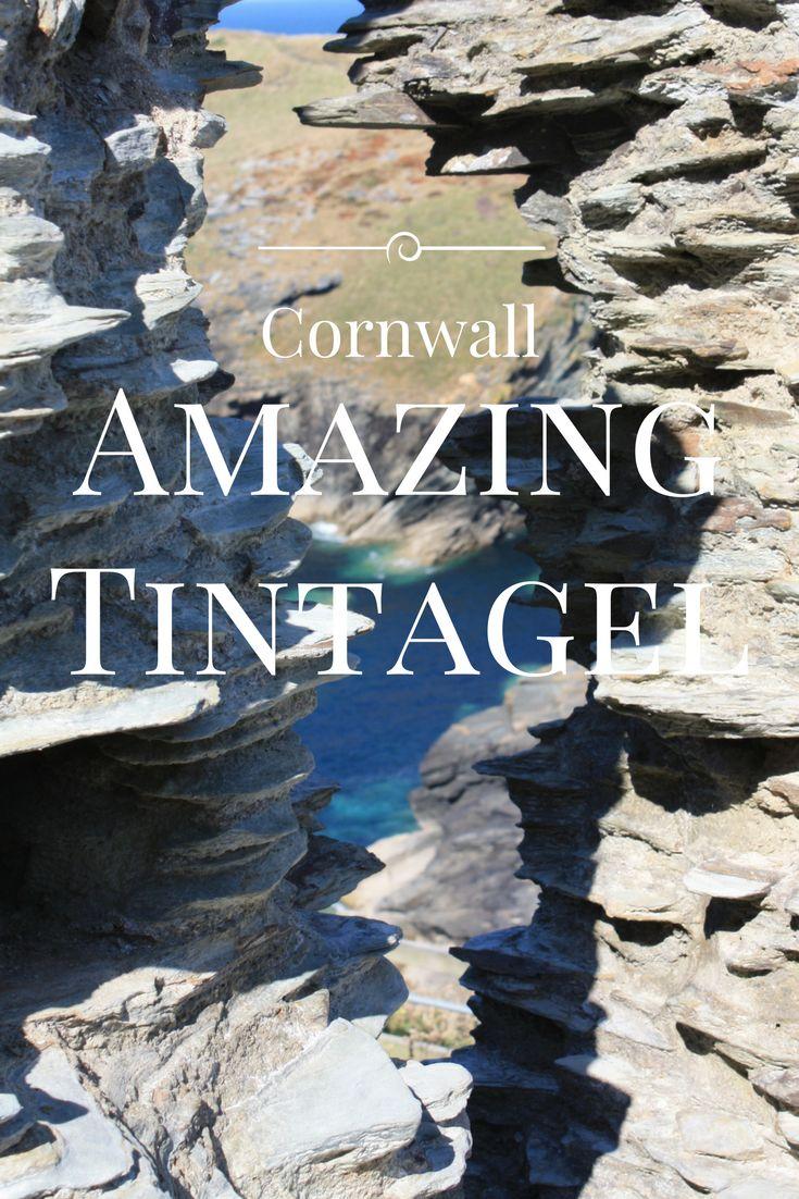 Tintagel soll der Geburtsort von König Artus sein - und Merlins Höhle kann man hier auch bestaunen - kein Wunder, dass dieser Ort an der Nordküste von Cornwall, Kinder und Erwachsene gleichermaßen beeindruckt.