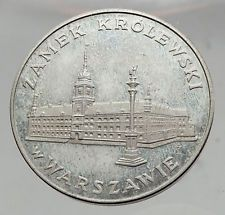 1975 POLAND Coin ROYAL CASTLE Building in WARSAW Proof Silver Polish Coin i63519