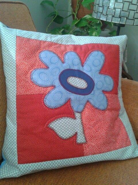 Flower pillow / pagalvėlė su gėle