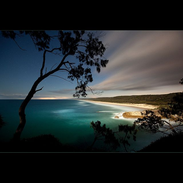 Gold Coast, Australia. I have friends who live here and it would be lovely to see them :o)