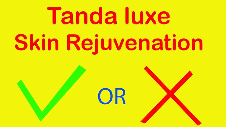 Tanda Luxe Skin Rejuvenation Photofacial Device | RED LIGHT THERAPY for wrinkles