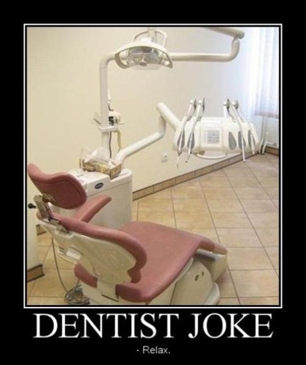 demotivational posters dentist jokes