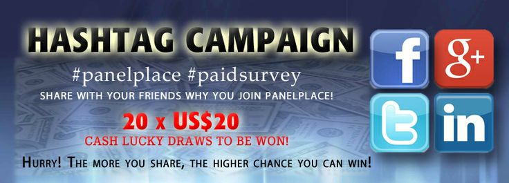 Promotions: Hashtag Campaign #2 | PanelPlace