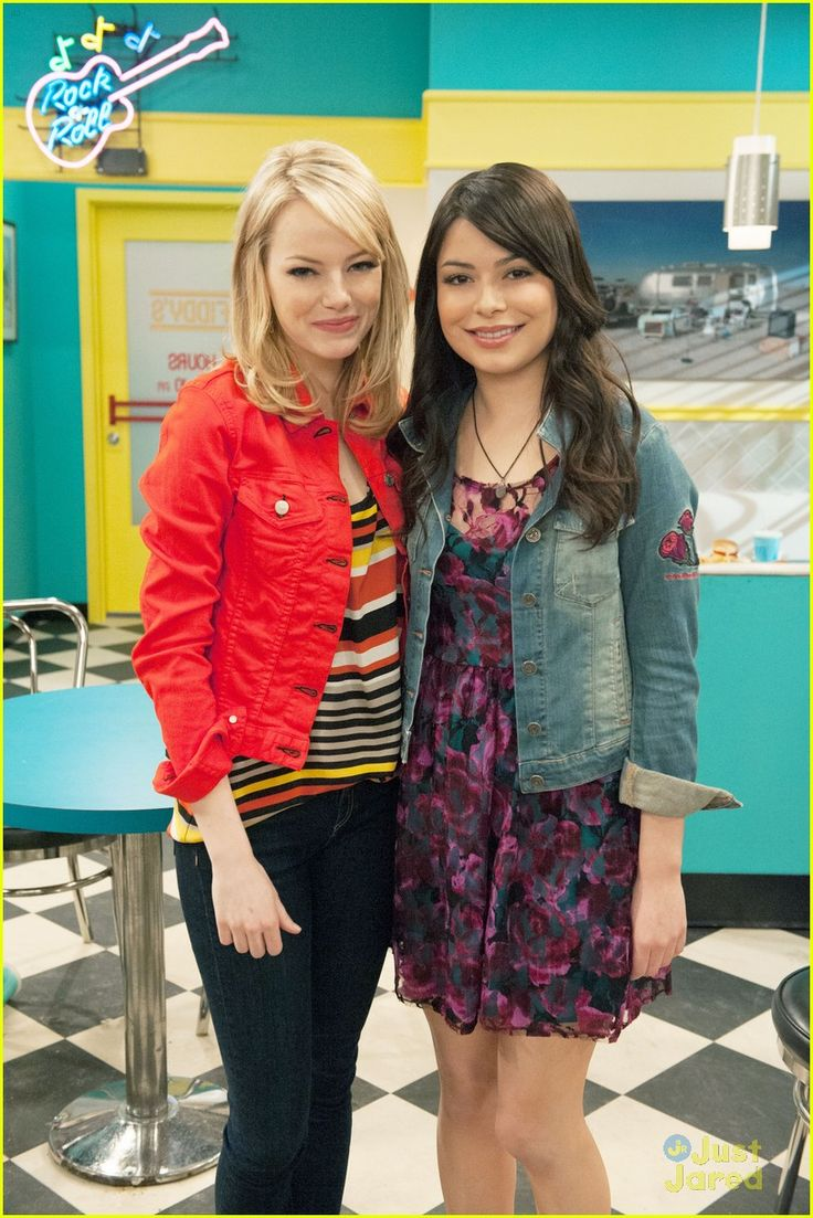emma stone icarly first look 10