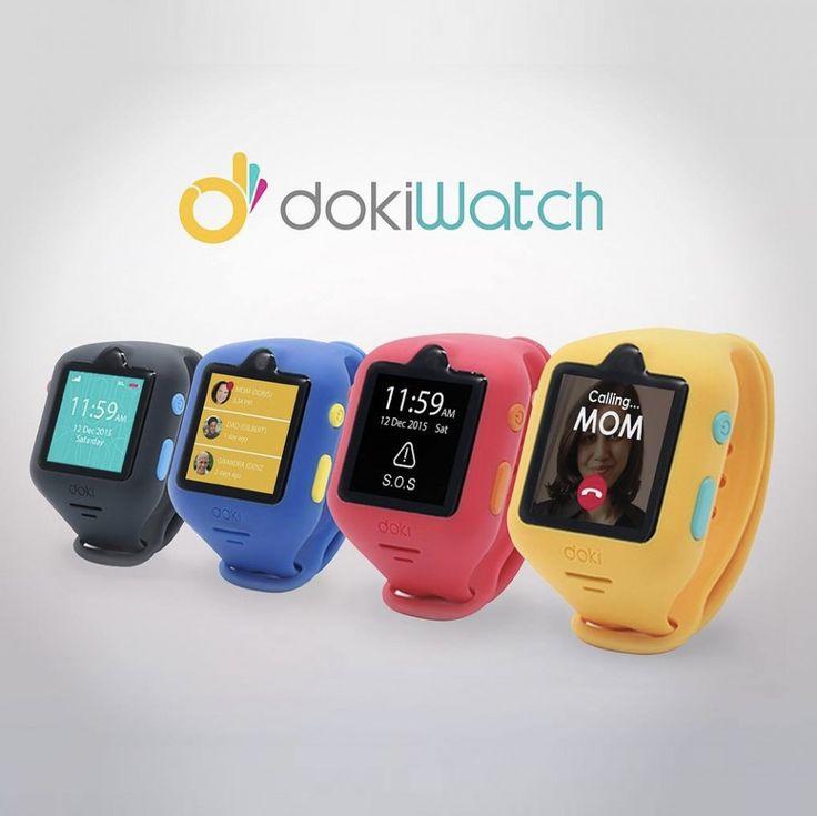 dokiWatch - Smart hodinky pre deti s GPS