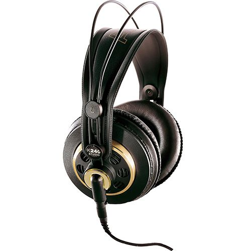 The AKG K240 is a pair of semi-open professional studio headphones created for precision listening, mixing and mastering. Read the full AKG K240 review. #akgk240 #akgk240studio #akg #headphones #earphones