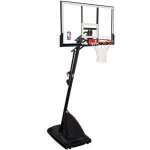Portable Basketball Systems - 66291 Spalding Basketball Hoop 54-inch Acrylic Backboard Goal