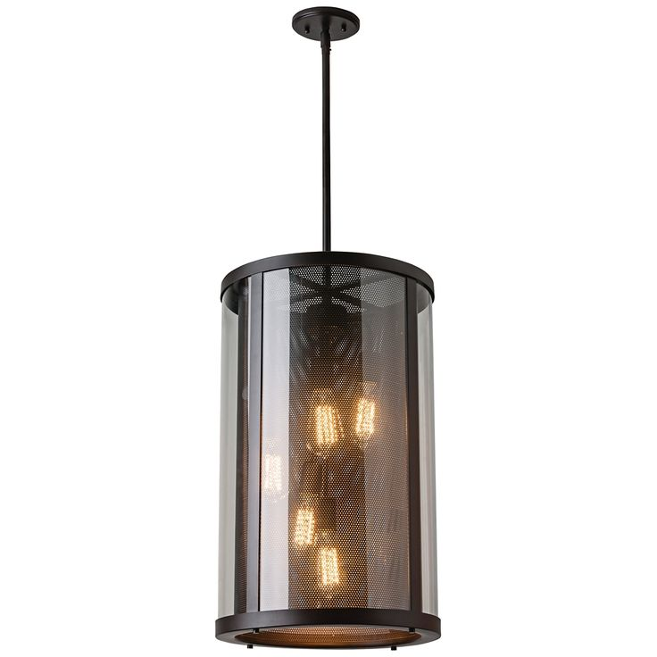 "Feiss Bluffton 15"" Wide Oil-Rubbed Bronze Pendant Light - Style # 6K890"