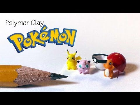 Polymer Clay Pokemon Tutorial (Miniature) - YouTube