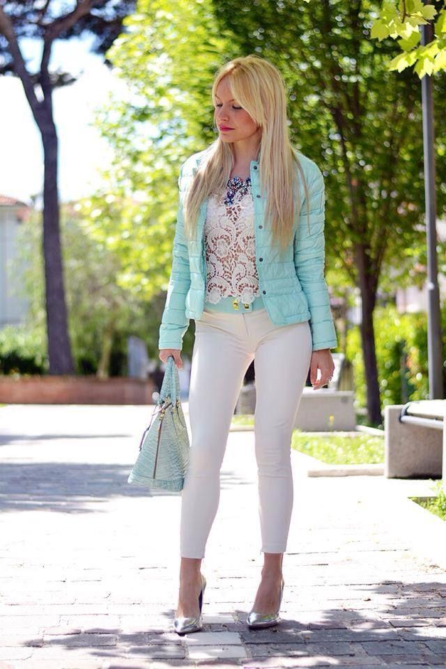 #piumino leggero #springcollection donna