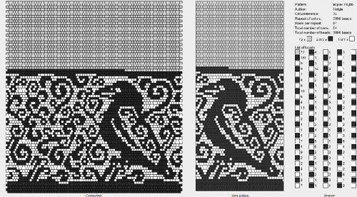 na mobil-Фауна : формат dbb и jbb : Схемы для вязаных чехлов для телефонов и сумочек : Файлы : jbead